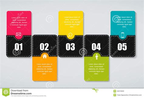 infographic templates for business vector illustration infographic business template vector illustration stock