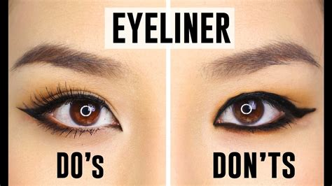 how to do best 12 common eyeliner mistakes you could be do s and