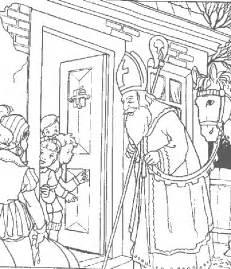 nicholas printable coloring pages - St Nicholas Coloring Page