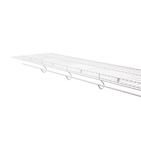 Rubbermaid Wire Shelf by Shop Rubbermaid Freeslide 8 Ft X 16 In White Wire Shelf At