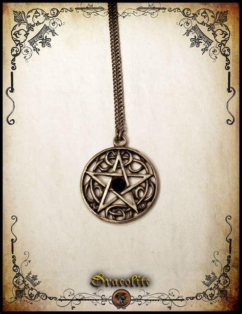 Handmade Wiccan Jewelry - celtic pentagram necklace jewelry handmade