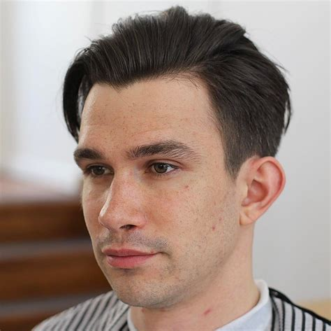 gelled comb back hipster haircut 2017 men s hair trend movenment and flow
