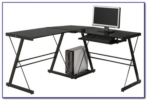 Walker Edison 3 Piece Contemporary Desk Walker Edison Walker Edison 3 Contemporary Desk