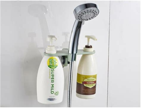 shoo bottle holder bathroom shower holder save