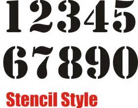 Number Stencil Templates Free by 7 Best Images Of Small Printable Stencil Numbers 1 10