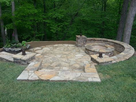 how to build a pit with retaining wall blocks pit in a hill retaining wall water feature and