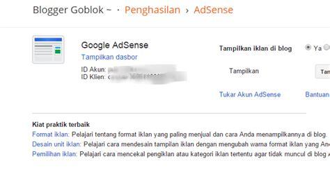 tips trick memasang iklan selain google adsense cara cepat memasang iklan google adsense di blog