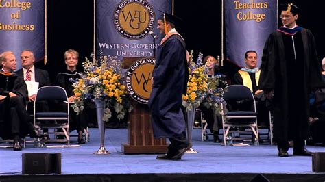 Western Governer Mba by Wgu Commencement July 2013 Ceremony