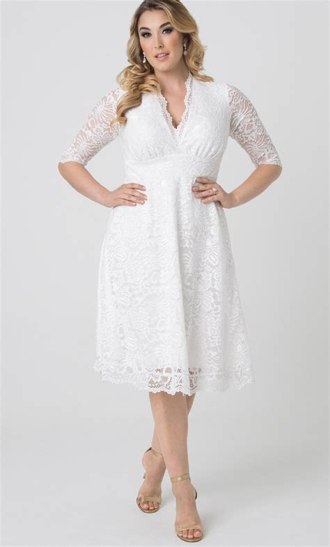 Womens Plus Size Wedding Dresses by Wedding Dress Kiyonna Clothing