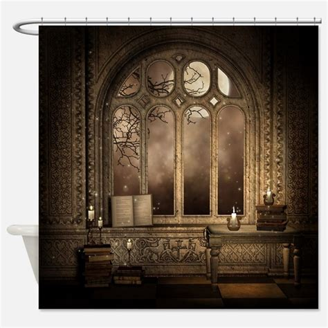 gothic style curtains gothic shower curtains gothic fabric shower curtain liner
