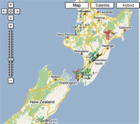 google images nz new zealand google maps mashup