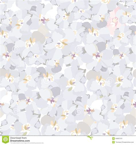 flower pattern on white background abstract swirl flower vintage texture stock vector