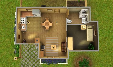 sims 2 pets house designs 1 bedroom starter sims 3 house plans pinterest