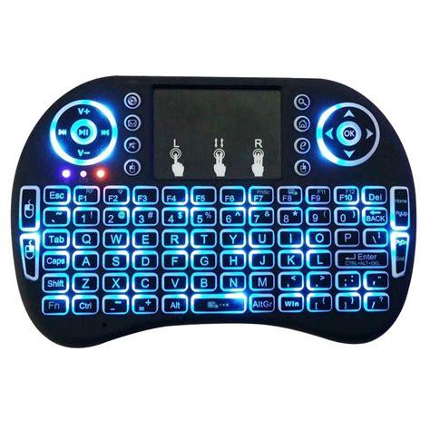 tastiera illuminata wireless mini tastiera wireless wifi retroilluminata mouse