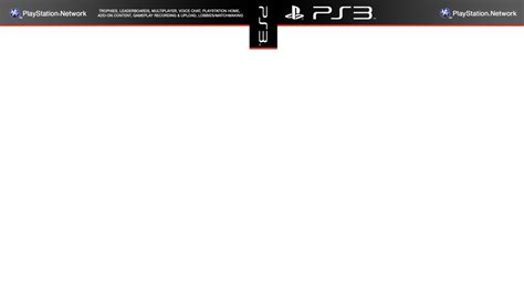 ps3 cover template by the prototype92 on deviantart