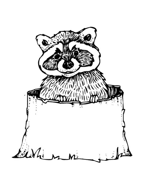 woodland animals coloring page coloring home