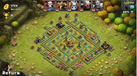clash of lord mod apk clash of 2 1 0 196 mod apk thunderztech