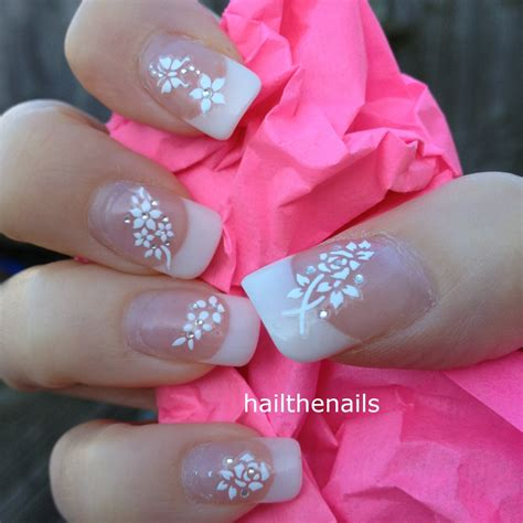 Nail Stickers by White Nail Stickers Nail Decals Wraps Sparkly By