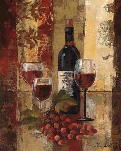 kitchen paintings graffiti and burgundy wine ii by silvia vassileva art