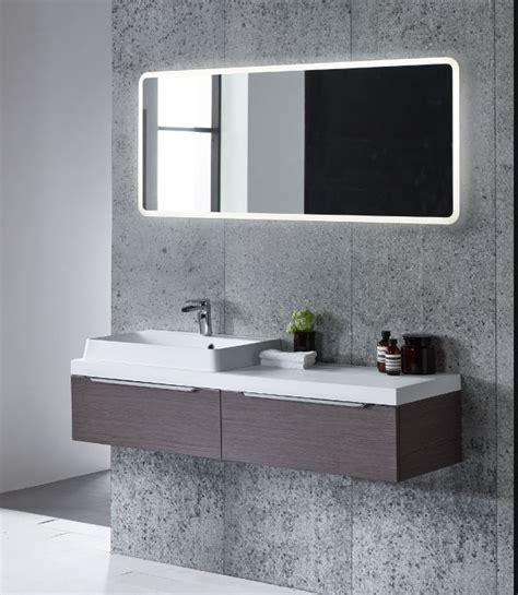 Aster 1200mm LED Illuminated Slim Depth Mirror   OKane