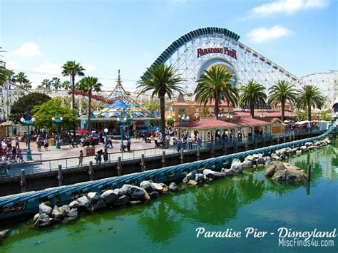 photo of the day paradise pier at disney s california adventure park