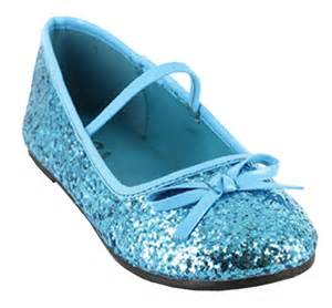 Blue glitter kids shoes 32 89