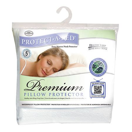 protect a bed queen protect a bed premium queen pillow protector walgreens
