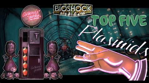 best bioshock bioshock top 5 best plasmids in bioshock the best