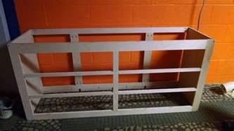 Diy Platform Bed With Dresser How To Build A Dresser Platform Bed From Scratch Diy