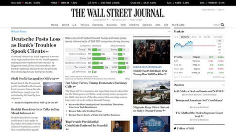 theme wsj 10 big name websites you would not expect using wordpress