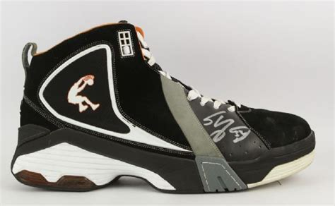 shaquille o neal basketball shoes lot detail 2009 shaquille o neal suns dunkman