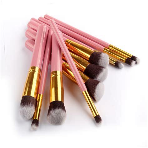 Fashion 6 Set Makeup Brush Set 9 10 pcs makeup brush set cosmetics brush pro synthetic hair