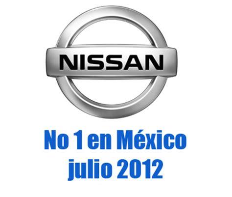 nissan mexico logo top ventas por marca en julio para m 233 xico autos actual
