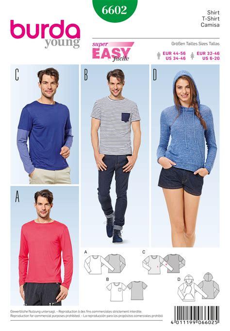 sweatshirt pattern burda burda 6602
