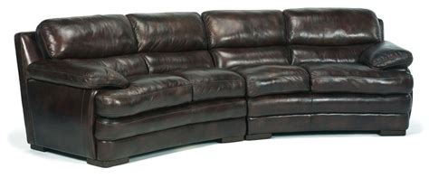 dylan leather sofa flexsteel latitudes dylan leather conversation sofa with
