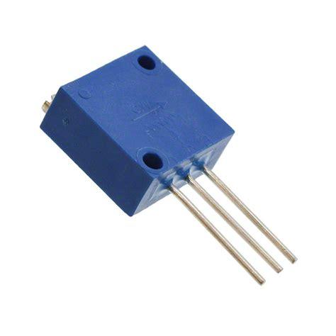 variable resistor bourns 3250w 1 101 bourns inc potentiometers variable resistors digikey