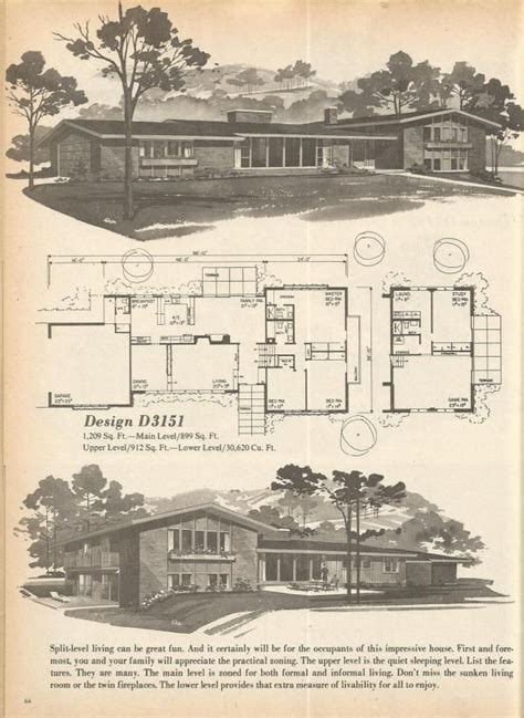 1970s house plans 146 best vintage house plans 1970s images on pinterest architecture projects and