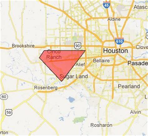Sections Of Houston by Tornado Warning Issued For Parts Of West Houston Sciguy