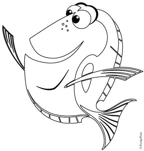 Dessins De Nemo 224 Colorier Dessin De Poisson Nemo L