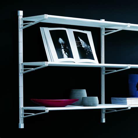 scaffale a muro scaffale libreria a muro in acciaio design moderno socrate 24
