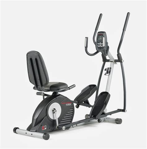 goplus 2 in 1 elliptical fan bike exercise bike zone proform hybrid trainer recumbent