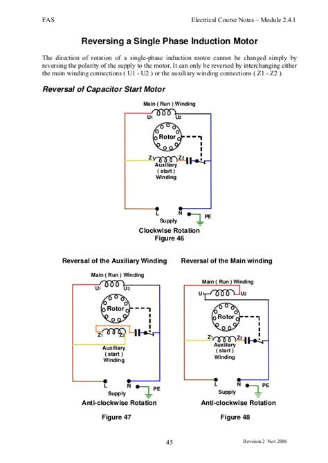 induction motor capacitor failure induction motors