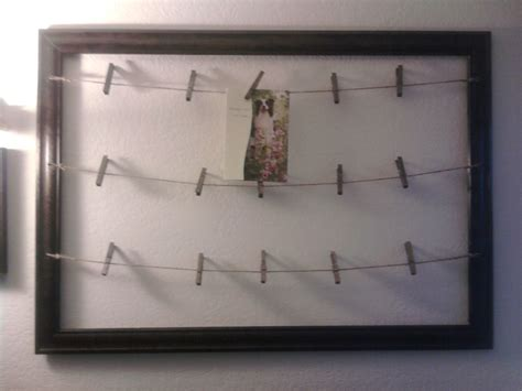 my clothespin photo frame craft ideas pinterest