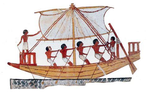 dessin bateau egyptien l egypte au temps des pharaons le blog du college albert