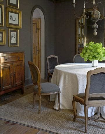 charcoal gray paint color eclectic dining room benjamin amherst gray avenue b