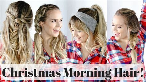 morning hairstyles for hair 5 morning hairstyles hair tutorial
