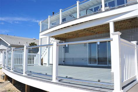 glass banisters cost stairs astonishing glass railing cost appealing glass