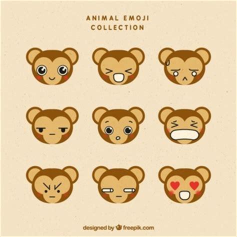 new year monkey emoji monkey facing right icons free