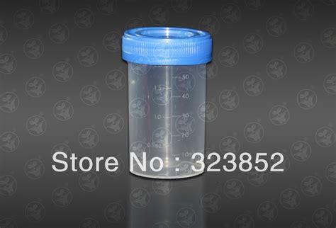 Urin Container Non Steril 60 Ml aliexpress buy urine container specimen cup 60ml vol molded graduation ml and oz pp non