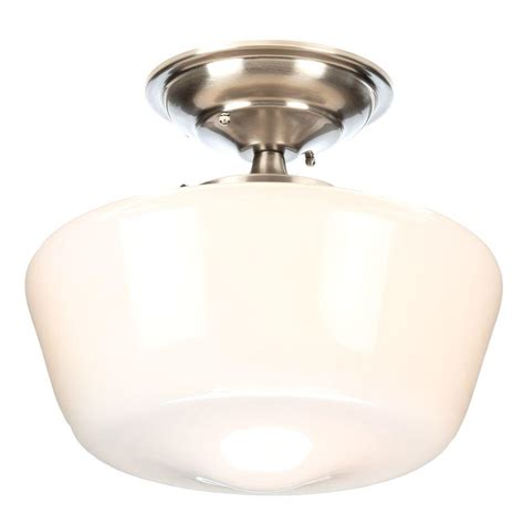 world imports luray collection 1 light brushed nickel semi